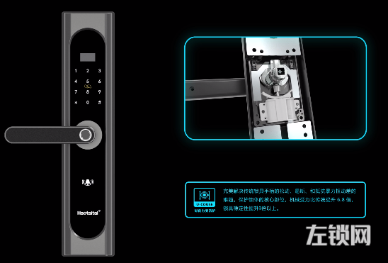 HAOTAlTA好太太智能锁H2视频介绍